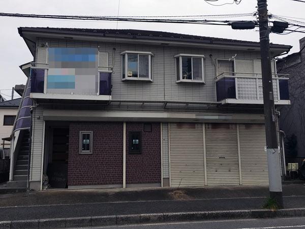 八千代アパート 塗装前|外壁塗装、住宅リフォームのことなら千葉のペイント・オン・デマンドに お任せください。