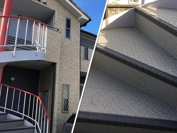 市川アパート 塗装後|外壁塗装、住宅リフォームのことなら千葉のペイント・オン・デマンドに お任せください。