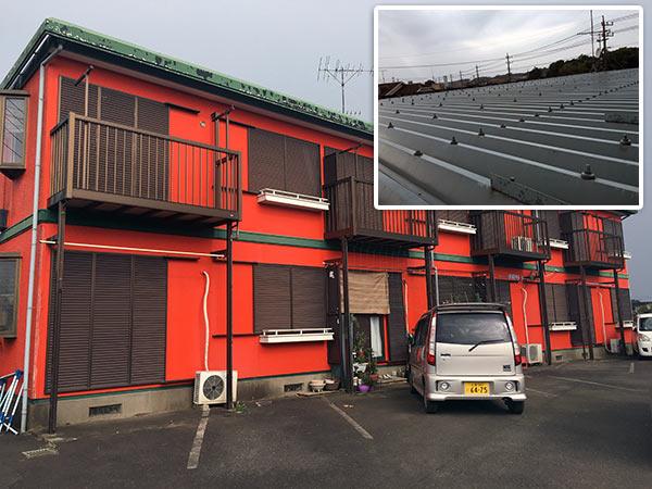 取手アパート 塗装前|外壁塗装、住宅リフォームのことなら千葉のペイント・オン・デマンドに お任せください。