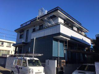 千葉県四街道市の屋根塗装外壁塗装遮熱塗料遮熱塗料施工事例