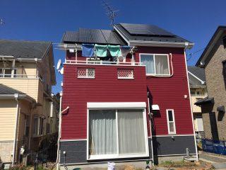 千葉県野田市の屋根塗装外壁塗装施工事例
