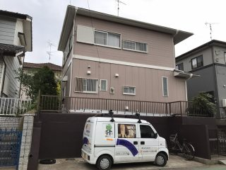 千葉県富里市の屋根塗装外壁塗装大工工事遮熱塗料戸建塗装施工事例