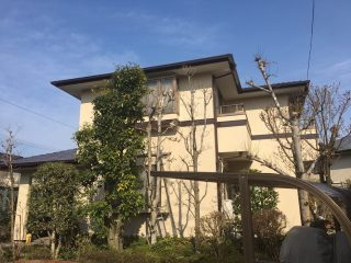 千葉県印西市の屋根塗装外壁塗装遮熱塗料遮熱塗料戸建塗装施工事例