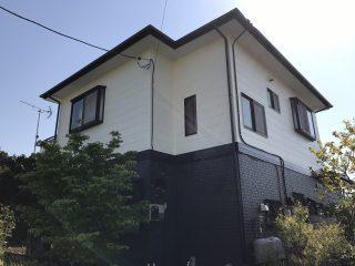 千葉県旭市の屋根塗装外壁塗装遮熱塗料遮熱塗料高意匠塗料戸建塗装施工事例