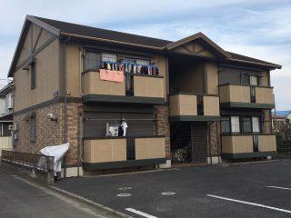 茨城県土浦市の屋根塗装外壁塗装アパート・マンション塗装施工事例