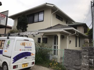 千葉県千葉市中央区の屋根塗装外壁塗装遮熱塗料遮熱塗料戸建塗装施工事例