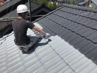 千葉県印旛郡栄町の屋根塗装外壁塗装遮熱塗料遮熱塗料戸建塗装施工事例