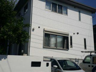 千葉県佐倉市の外壁塗装遮熱塗料戸建塗装施工事例